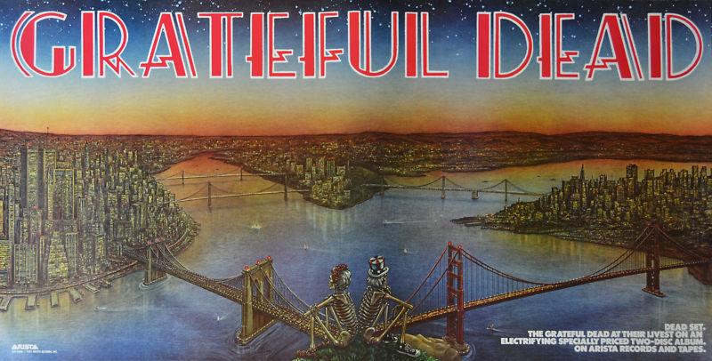 The Grateful Dead Dead Set 1500 X 1316 Albumartporn