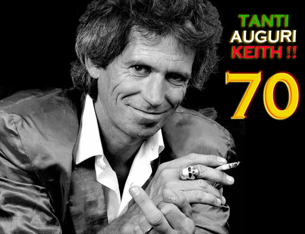 Keith Richards 70