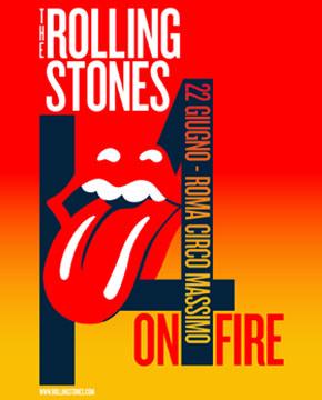 Rolling Stones Circo Massimo Roma 2014 22 Giugno