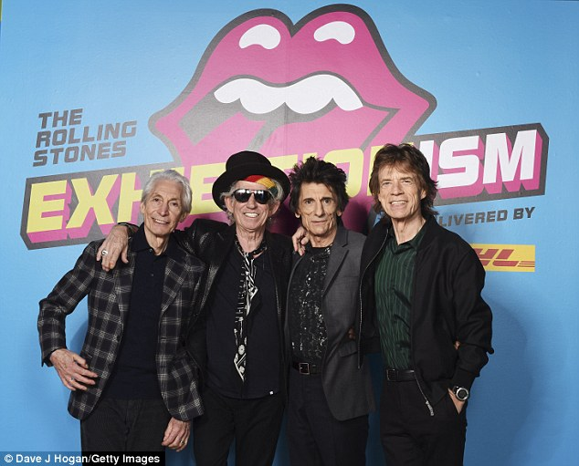 Stones Saatchi Exhibitionism London 2016