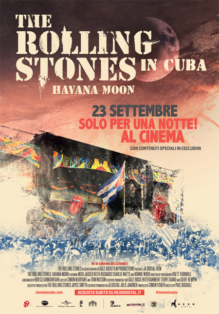 Stones Havana Moon Cinema