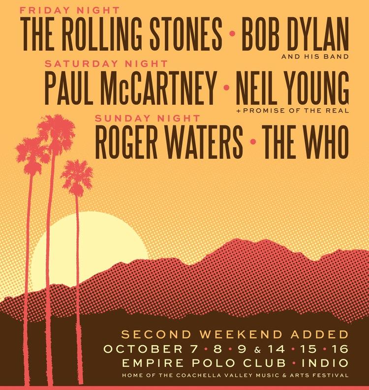 Rolling Stones Indio Coachella 2016